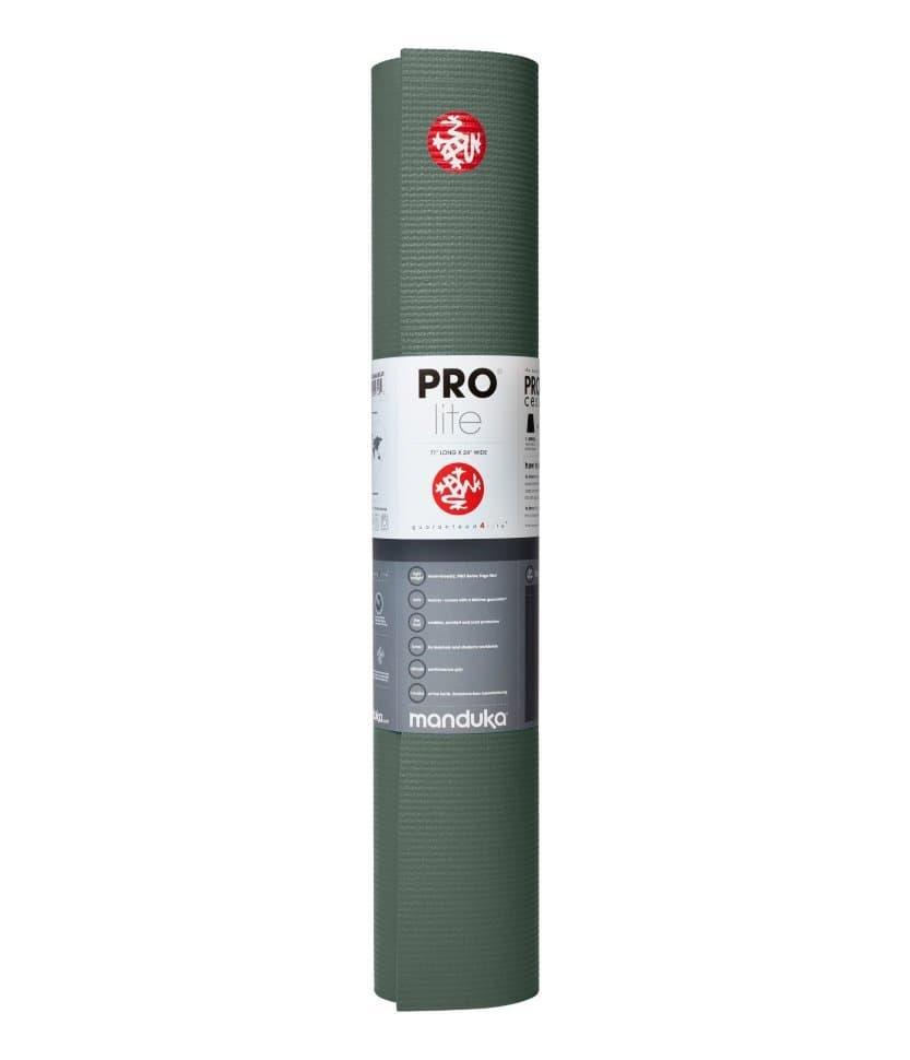 Коврик для йоги PROlite Mat Black Sage 4,7 мм 61х1870 см Manduka из ПВХ (под заказ из СПб)